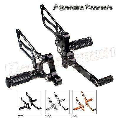 CNC Billet Adjustable Rearsets Rear Sets Foot Peg For Ducati 748 916 996 998 NEW