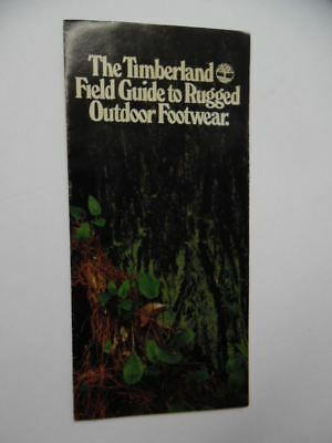 1981 Timberland Guide To Rugged Footwear Boot Shoe Catalog Brochure Vintage RARE