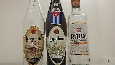 Legendario / Havana Club Rum Bottles