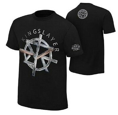 "WWE Seth Rollins ""The Kingslayer"" Mens Short Sleeve T-Shirt Wrestling Tee Shirts"