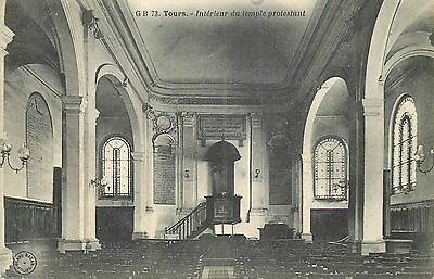 37 Tours Interieur Du Temple Protestant