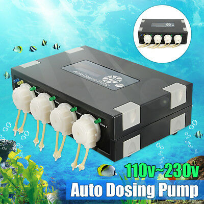 Automatic Doser for Reef aquarium elements DP-4 Auto Dosing Pump Fashion NEW