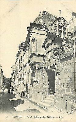 37 Chinon Vieilles Maisons Rue Voltaire Animee Ll