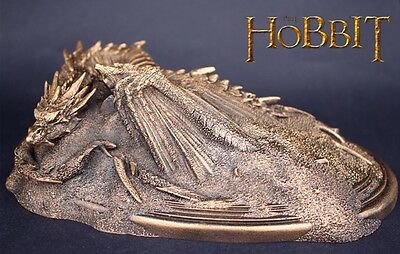 Lord of the Rings Hobbit, Smaug - King Under the Mountain, Dragon mini Statue.