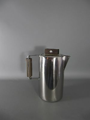 60s  Edelstahl Kanne Industrie Design SARTEL French coffee pot stainless steel