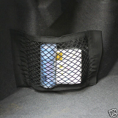 Universal Car Trunk Luggage Net Back Rear Seat Storage Bag Keep Items Safety