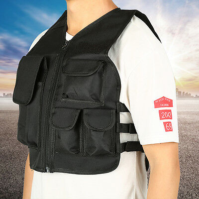 4 Colors Kids Children Tactical Combat Assault Army Military Hunting Vest TP