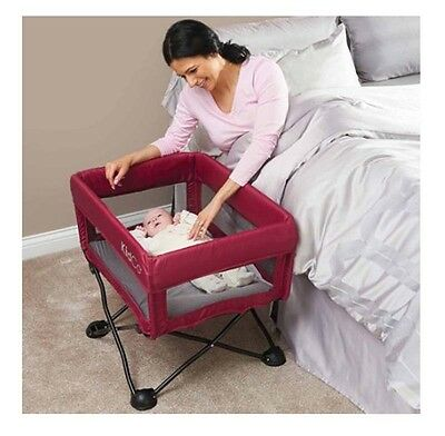 Portable Bassinet for Baby Newborn Infant Soft Padded Sleeper cozy Crib