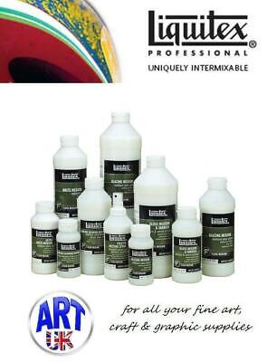 Liquitex FLUID MEDIUMS professional artists acrylic colour effects additives