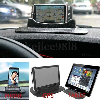 Universal Car Dashboard Anti Slip Sticky Pad Holder Stand for GPS Phone Tablet