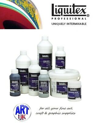 Liquitex SURFACE PREPARATION professional acrylic paint colour effects additives