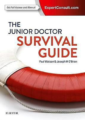 The Junior Doctor Survival Guide by Dr. Paul Watson Paperback Book Free Shipping