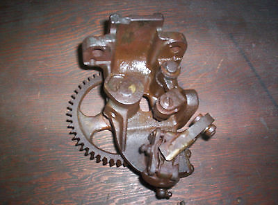 Original Fairbanks Morse 1 1/2 Z Hit Miss Gas Engine Governor Bracket Cast Iron