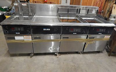 Giles Bank Deep Fryer Banked Fry System Industrial 24000 Watt EOF-20