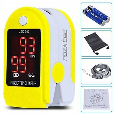 Pulse Oximeter Finger Pulse Blood Oxygen Saturation Heart Rate SpO2 Monitor