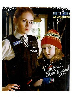 Caitlin Blackwood Authentic Signed Autograph Montreal Comiccon 2015 Doctor Who