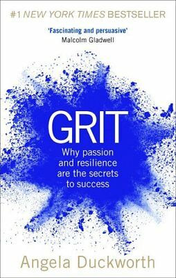 Grit: Why passion and resilience are the  by Angela Duckworth New Paperback Book