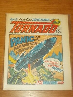Tornado #5 21St April 1979 British Weekly Comic High Grade^