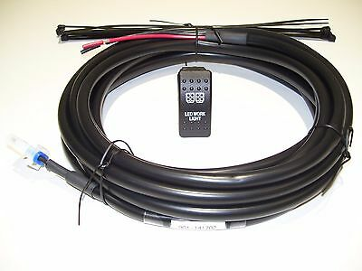 5 AMP ACC-ACCESSORY HARNESS /& SWITCH KIT KIT#09 HONDA PIONEER 1000 3P//5P 6 FT