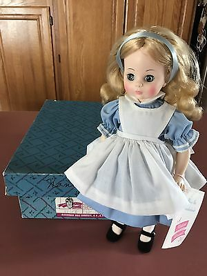 Vintage Madame Alexander Alice in Wonderland Doll ~With Box & Tag~  #1552 *VGUC*