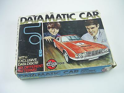 Vintage Airfix Datamatic Car Aston Martin DBS Ref. 1818 ©1970, Boxed, Working