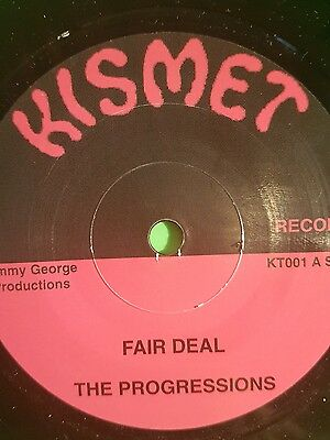 Kismet Records Fair Deal / Drugs Man The Progressions Hux Brown