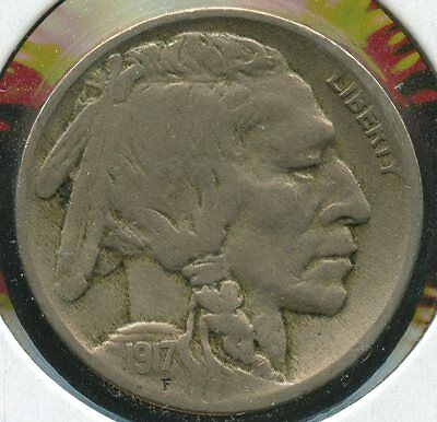 1917 Buffalo Nickel - Philadelphia Mint - KD341