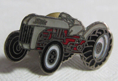 Vintage Ford Tractor Advertising Tie Tack,Enameled Metal Tractor Shaped Tie Tack