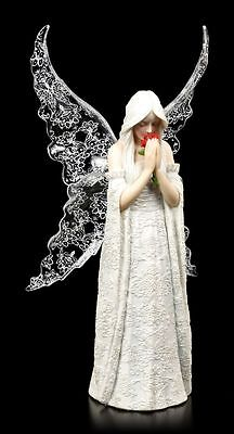 Anne Stokes Gothic Angel Figure - Only Love Remains - Fantasy Fairy Elf Rose