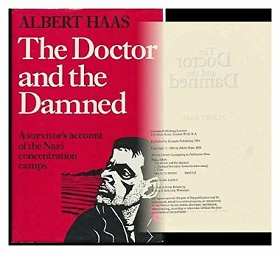 Doctor and the Damned by Haas, Albert Hardback Book The Cheap Fast Free Post