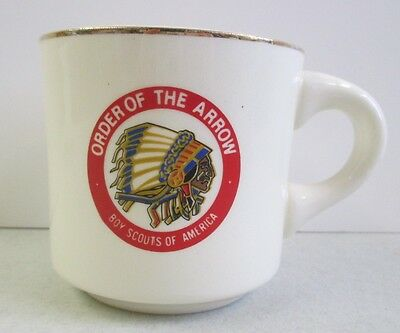 Vintage Boy Scouts Of America Order Of The Arrow Mug - National Honor Society