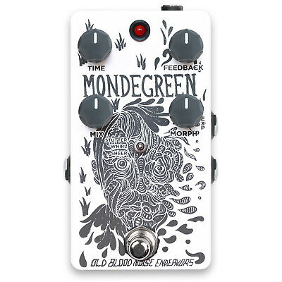 Old Blood Noise Endeavors Mondegreen Limited Edition Delay Pedal