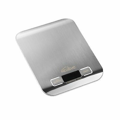 Kealive Digital Scale Food Scale Kitchen Scale Digital LCD Display 11lb 5... New