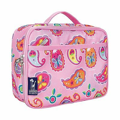 Wildkin Olive Kids Paisley Lunch Box New