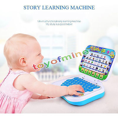 New Childs Kids Pre School Educational Laptop Computer Game Present