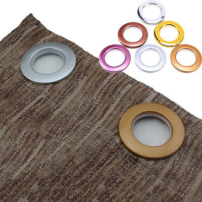 "8x New 1.6"" Round Eyelet Ring Sewing Tape For Curtain Blinds Drapery Low Noise"