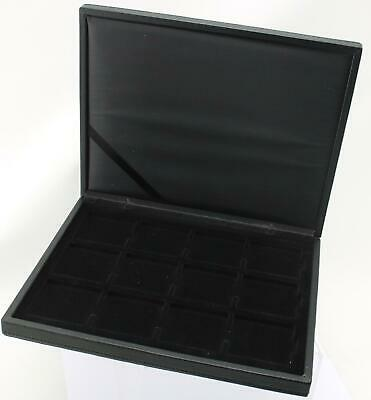 Deluxe Lighthouse Presidio Quadrum case for displaying 12 coins (empty)