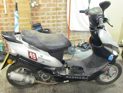 2010 Baotian Speedy Bt49Qt-9 Only Bare Frame,other Parts Available