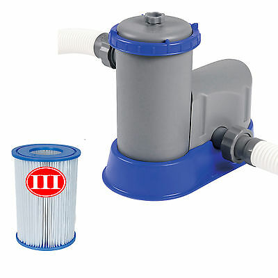 Bestway Flowclear 5600litre Filter Pump for Pools up to 18ft with 38mm fittings