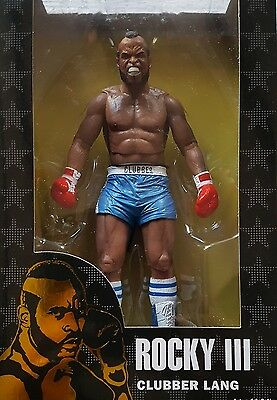 """Neca Rocky 40Th Anniversary Series 1 - Clubber Lang 7"""" Figure (Blue Shorts)"""