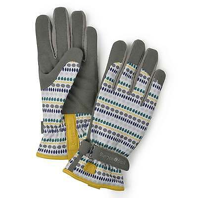 Burgon and Ball Gardening Gloves Ladies - Love The Glove Seed Blue size M/L