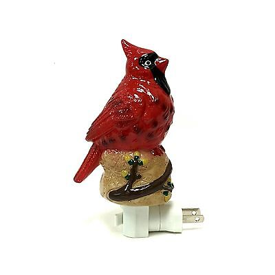Adeline or Dreamerz NL2127 Red Cardinal Night Light New