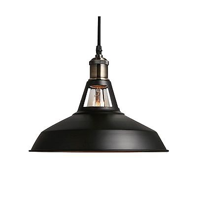 B2ocled Metal Pendant Lighting 1 Light Edison industrial Hanging Lamp for... New