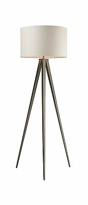 Dimond D2121 20-Inch Width by 61-Inch Height Salford Floor Lamp in Satin ... New