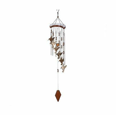 Hummingbird Cascading Windchime New