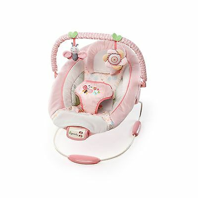 Ingenuity Bright Starts Cradling Bouncer-Felicity Floral Pink/Cream/Yellow New