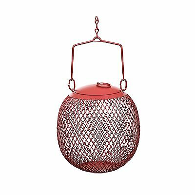 No/No Feeders Red Seed Ball Wild Bird Feeder New