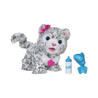 FurReal Friends Flurry My Baby Snow Leopard Pet (Amazon Exclusive) New
