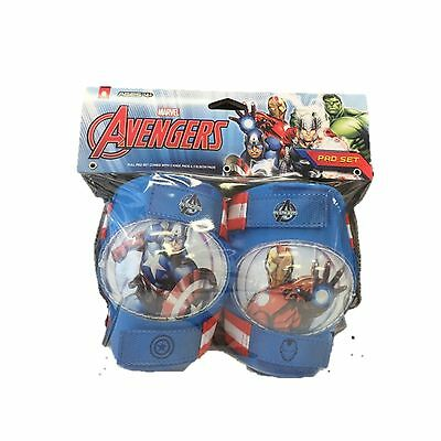Marvel the Avengers Knee and Elbow Pads New