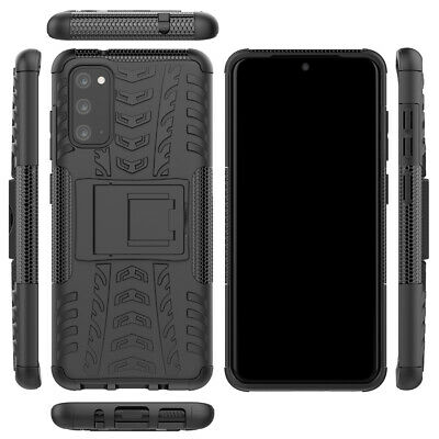 SAMSUNG GALAXY S8 / S9 [Slim Armour] Tough Rugged Armour Shockproof Case Stand